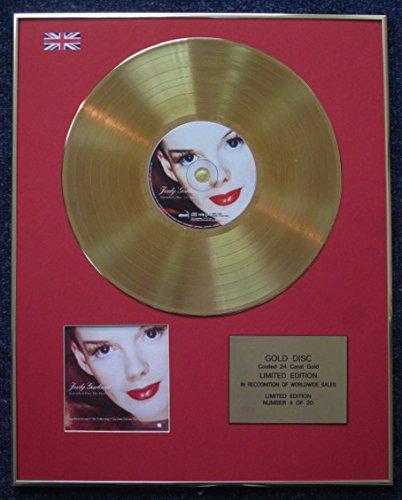 Judy Garland-Limited Edition CD 24Karat Gold beschichtet LP Disc-Over the Rainbow (Rainbow Judy The Garland Lp Over)