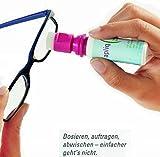 apliq Brillenreiniger und Smartphone-Reiniger für Smartphone Displays und Tablets NEU