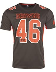 Majestic NFL Mesh Polyester Jersey Shirt - Cleveland Browns
