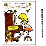 Erika Holzweißig Klavierschule - für Kinder ohne musikalische Vorkenntnisse eingerichtet - mit Beiheft: Improvisation und Liedbegleitung und Piano-Bleistift