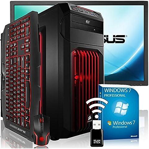 AGANDO Extreme per PC Gaming pacchetto completo Multicolore GeForce GTX980 4GB | Windows 7 Pro Intel Core i7 6700K | 16GB RAM