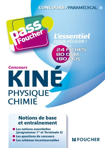 Concours Kin Physique Chimie