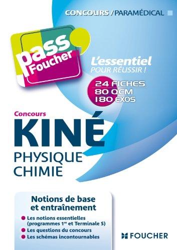 Concours Kiné Physique Chimie