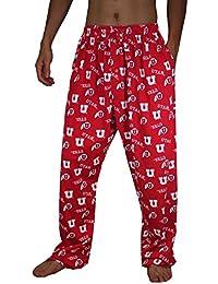 NCAA Mens Utah Utes Cotton Sleepwear / Pajama Pants