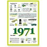Tolle Geschenkidee: Jahreschronik 1971