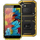Kenxinda W9 Teléfono Móvil IP68 4G Impermeable Antichoque Resistente al agua, los golpes teléfono Android 5.1 MTK6753 Octa Core 2GB RAM 16GB ROM 6.0 pulgadas 1920*1080 13.0MP teléfono inteligente