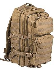 Camouflage Militaire Armée Sac à dos US assault pack 36L MOLLE Coyote