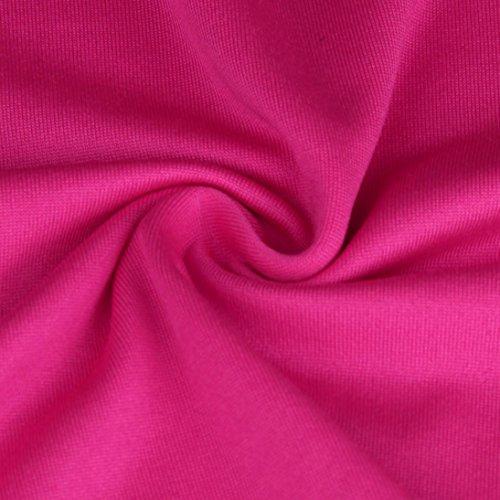 Ineternet Femmes Sexy en vrac Tops Gym Sport veste Training course sans manches gilet Hot Pink
