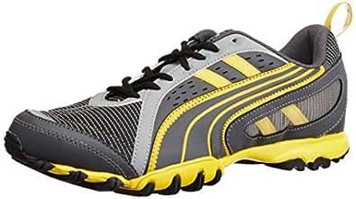 Puma Men's Sienna Grey Mesh Sport Running Shoes - 6 UK/India (39 EU)