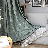 adaada Modern Stil Gestreifte Vorhänge Luxus Vorhänge Wohnzimmer,2er Set (Vorhänge mit Kräuselba, 230cmX140cm)