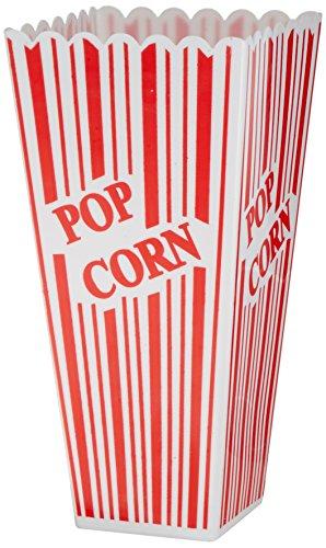 Beistle 57473Plastic Popcorn Boxen, 2by 3-3/4-Zoll von 7-3/4-Zoll (Academy Awards Party Dekorationen)