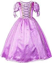 Generic Snow Queen Dress Princess Girls Dress Kids Costume Kids Dress