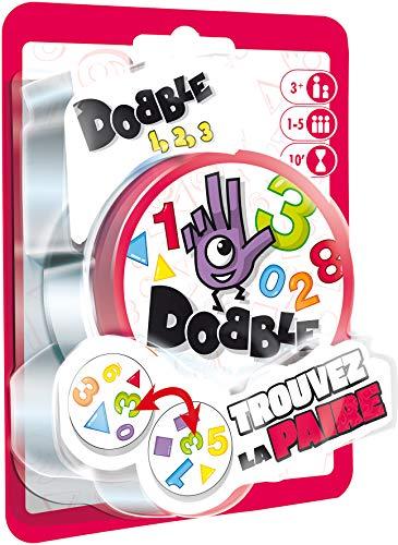 Asmodée-Dobble 123Blister, docf02fr, Juego de salón