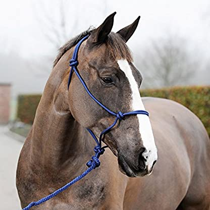 Horze Knotted Rope Halter Lead Set 1