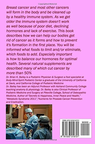 Breast Cancer Prevention and Wholistic Treatment: Natural Non-toxic Chemotherapy for Breast Cancer