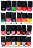 #7: Foolzy® Pack of 24 Multicolor Nail Paint Polish (FOO-NP-TP9)