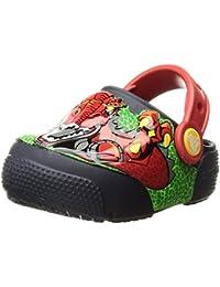 Crocs Fun Lab Lights Clog K, Zuecos para Niños