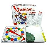 ZEARO Twister Spiel Klassische Twister Kinderspiel Brettspiele Bodenspiele für Party Familie, 27 x 27 x 5cm