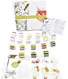 Gin Tonic Gewürzen Geschenkset praktischen Probierset von Te Tonic- Geschenk Set mit 24 Aufgussbeuteln und 8 Botanicals. Schmecke das Aroma von Gewürzen, Kräutern und Blumen in deinem Gin&Tonic