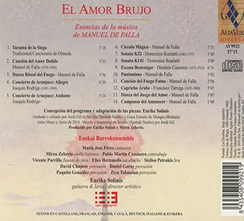 Zoom IMG-1 el amor brujo the essence