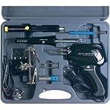 Toolcraft Lötkolben-Set 230 V, Lötpistole 100 W, Lötkolben 30 W, 3. Hand, Entlötpumpe