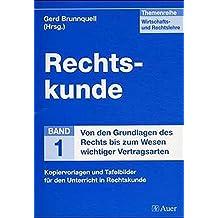 Suchergebnis Auf Amazonde Für Rechtskunde Bücher