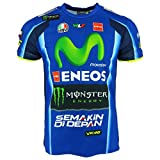 Valentino Rossi VR46 Moto GP M1 Yamaha Racing Replica T-shirt Officiel 2017