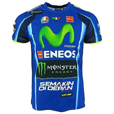 Valentino Rossi VR46 Moto GP M1 Yamaha Racing Replica T-shirt Offiziell 2017 (Valentino Rossi Shop)