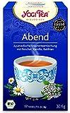 6er Pack Yogi Tee BIO Abend Tee, 17 Btl. à 1,8g (frachtfreie Lieferung innerhalb Deutschlands ab 20 EUR Einkaufswert) (6)