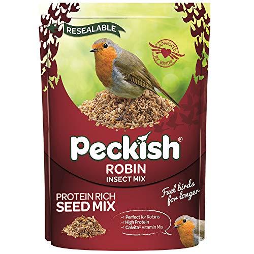 Peckish Robin Mélange de graines pour Oiseaux et Insectes 2 Kg