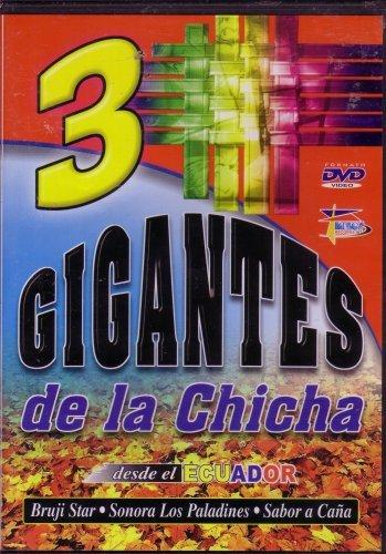 Preisvergleich Produktbild 3 Gigantes De La Chicha - Bruji Star ,  Sonora Los Paladinas,  Sabor a Cana