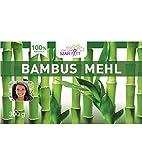 300 g Premium Bambusmehl, Bambusfaser Mehl, Paleo, Keto
