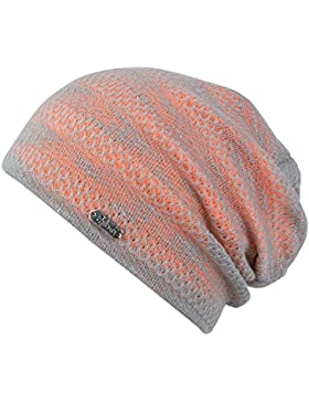 Chillouts Unisex summerbeanie Tallin Hat grey orange
