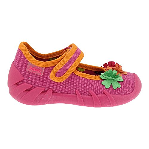 Gallux - Mädchen Hausschuhe Schuhe süße Halbsandalen Pink