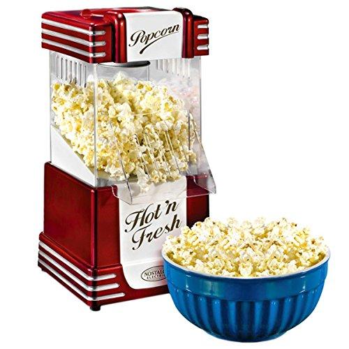 Nostalgia Electrics Hot Air Popcorn Maker–UK Plug