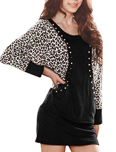 allegra-k-femmes-automne-hiver-leopard-clous-manches-chauve-souris-robe-moulante-noir-1x