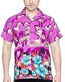 SWEET NECTAR Camisa hawaiana florar casual manga corta ajustado para hombre XXL