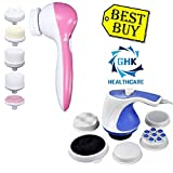 #7: GHK HC5 5 in 1 Portable Compact Face Massager for Facial & Relax & Spin Tone Handheld Body Massager Best Buy Combo