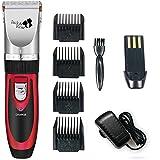 Haarschneider professional Wiederaufladbare Haarschneider Kit und Trimmer Haarrasierer 7 Anhänge Haircut Grooming Clipper Werkzeuge für Familie