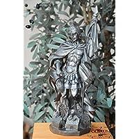 50–55cm, colore argento, PREMIUM–Statuetta San Florian, con