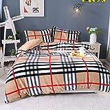 QIANC Bettdecke,Warme Decke,Bedding Bettdecke,Premium Bettdecke Flauschige,Ideal Für Allergiker,Waschmaschinenfest,A,220 * 240