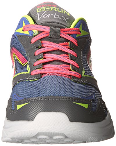 Skechers Go Run Vortex, Running Entrainement femme Charcoal/Purple