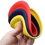 SchwabMarken Weiche Hunde Frisbee/Dog Frisbee Disc, 1 Stück, bunt gemischt, Durchmesser ca. 17,5 cm in verschiedenen Farben und Mengen aus weichem Silikon
