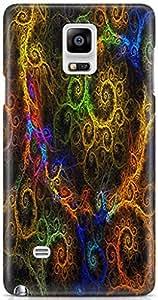 AKMOBI Designer Hard Back Case Cover For Samsung Galaxy NOTE 4