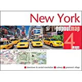 New York Popout Map - handy, pocket-size, pop-up map of New York (Popout Maps)