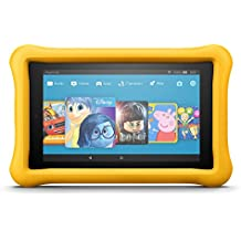"Fire HD 8 Kids Edition Tablet, 8"" Display, 32 GB, Yellow Kid-Proof Case (Previous Generation - 7th)"