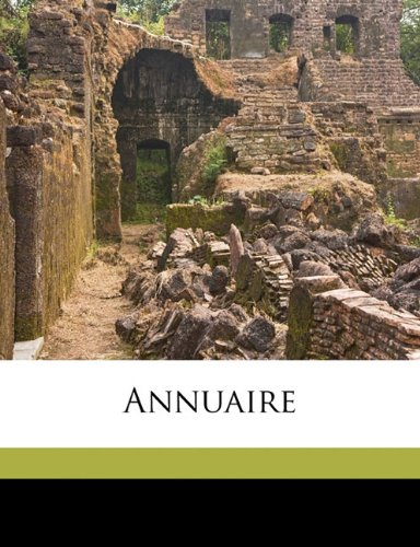 Annuair, Volume 29-31