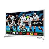 Image of Samsung Series 4 Ue32j4510 32 inch Widescreen Hd Ready Led Smart Television With Built in Wi fi And Freeview Hd White