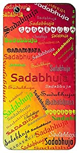Sadabhuja (Goddess Durga) Name & Sign Printed All over customize & Personalized!! Protective back cover for your Smart Phone : Moto G-4