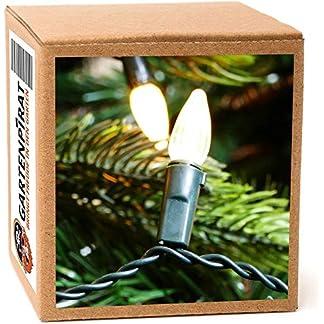 Baum-Lichterkette-20m-mit-200-Kerzen-warmwei-KabelStrom-innen-auen-mit-Programme